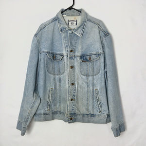 Lee  Mens Authentic Denim Jean Jacket 90s Vintage
